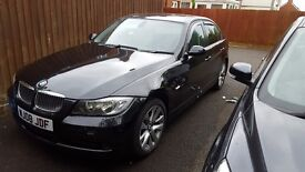 BMW 320D 3 Series 2008 Black FSH
