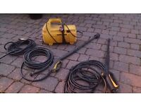 Karcher pressure washer with two guns