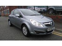 2008 Vauxhall Corsa 1.2 i 16v Life 3dr, FULL SERVICE HISTORY, Warranty & Breakdown Available, £1,495