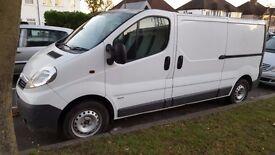Vivaro LWB,2011 plate, 109234 miles,1 owner, full service history, £5000NO VAT TO PAY