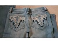 "Womens designer ANTIK jeans.new.31"" x 32"""