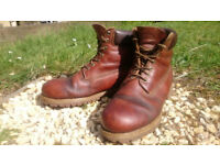 Timberland leather boots size 11 for sale