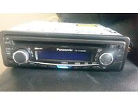 Panasonic CQ-C1123NW car stereo. As new cond.
