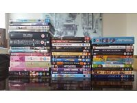 Large collection of films and TV box sets - very good condition