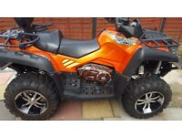 Quadzilla x8 800cc 15reg road legal 4x4 quad. Performance upgrades. May px motorbike and cash