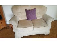 2 seat and 3 seat sofas for sale, good condition, washable covers, buyer to collect