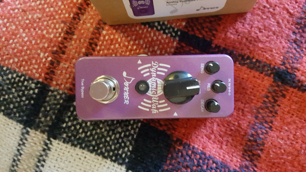 Donner Mini Auto Wah Guitar Pedal Dynamic Wah In Wimbledon