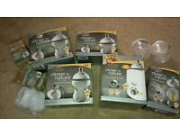 Tommee tippee baby bottle, warmer and teat bundle brand new