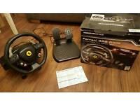 Thrustmaster Ferrari racing wheel for XBOX 360