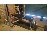 York Fitness B540 Bench / Squat Rack - 250KG Max Load
