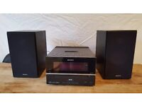 Sony HCD-BX77DBI mini hi-fi with CD And DAB radio
