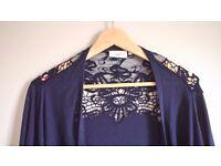Navy blue cardigan size 16