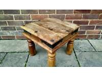 Rustic Real Wood Coffee/Occasional Table