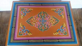Beautiful colourful Indian table/TV stand