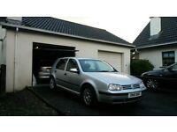 2002 Volkswagen Golf 1.9tdi se model. Diesel( focus polo corsa astra 307 206 bora passat cheap swap