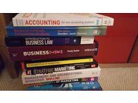 Bundle of business studies books