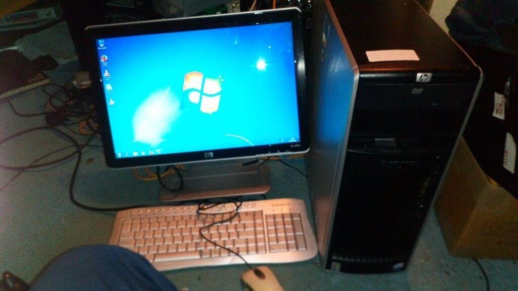 Hp desktop pc computer xeon 4 core 8gb HP xw6400