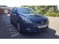 KIACEED,ESTATE,MANUAL,1.6DIESEL,A/C,BLUETOOTH,FSH,MOT,TAXED,READY TO DRIVE,IMMACULATE CONDITION