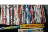 45 DVDs plus Glee Seasons 1-3
