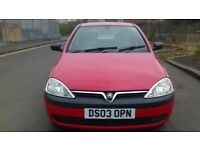 VAUXHALL CORSA 1.2 PETROL FULL YEAR MOT EXCELENT CONDITION