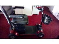 GOGO ELITE MOB SCOOTER BOUGHT NEW/ 5 PIECES TO TRANSPORT/NEW BATTERIES/2 KEYS/CHARGER/BOOK/ £275