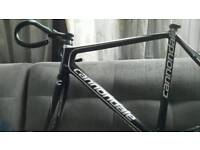 Racer bike Cannondale super six fully carbon