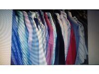 50kgs of mixed shirts grade B