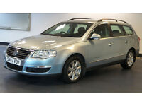 2007 VOLKSWAGEN PASSAT 2.0 TDI SE 5d 138 BHP *ESTATE* *PART EX WELCOME*FINANCE AVAILABLE*WARRANTY*