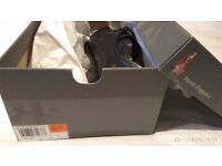 Hush Puppies mens black shoes, size 7, brand new and in box