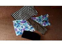 Bag of CLOTHES ZARA, ESPRIT, ADIDAS...
