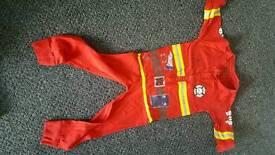 Fireman onesie