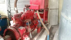 Sprinkler Pump House / Full system including pumps , Tank Pipes , Electricals