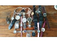 Job lot of good watches and smart watches.
