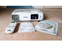 EPSON EB-X27 Portable 3LCD projector + Remote & Carry Bag