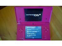 Nintendo DS with 6 Games and Accessories