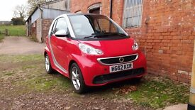Smart fourtwo Pulse MHD Auto Coupe 999cc Petrol NO CAR TAX!! Only 17000mls