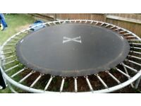 8ft trampoline. Sold as seen Collection only