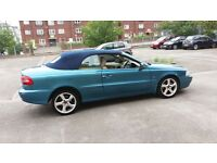 volvo c70 gt convertible 2.0 turquoise