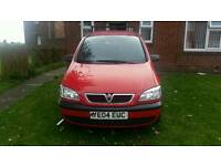 Zafira swap for a diesel or a smaller engine car