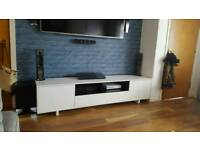 TV stand with over TV unit