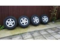 Mercedes Benz ML alloy wheels in great condition
