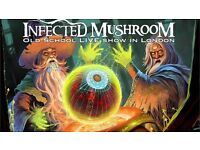Two Infected Mushroom tickets, London (@Troxy). Old school live set + Return to the sauce!!