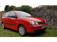 vw polo 2003 MOT for 1 year