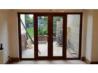 Light Oak Double Glazed French Doors