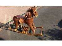 Rocking horse, mamas and papas