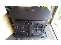 Yeoman multi fuel stove Woodburner wood burner log fire woodburning wood burning stove back boiler