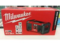 New Milwaukee M18 Radio AUX Player Speakers