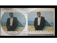 Bruce Springsteen Tunnel Of Love UK Picture disc LP AND Vinyl LP 1987 _Excellent Condition