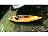 12ft Sea kayak and accessories