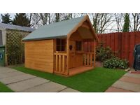 kids playhouse real wood all round £419